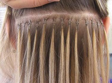 Технология наращивания волос на ленты